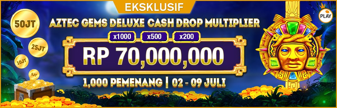 PP Aztec Gems Deluxe Cash Drop Multiplier